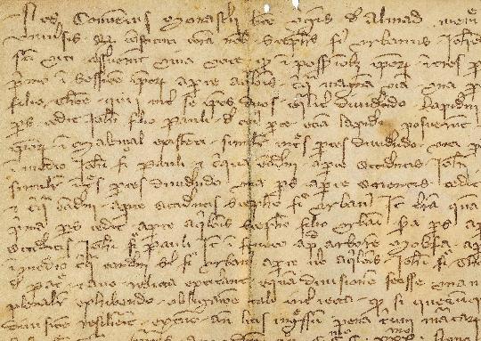 Középkori oklevelek