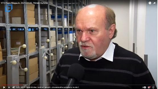A Gyűjtemények a Pápa Városi Televízióban