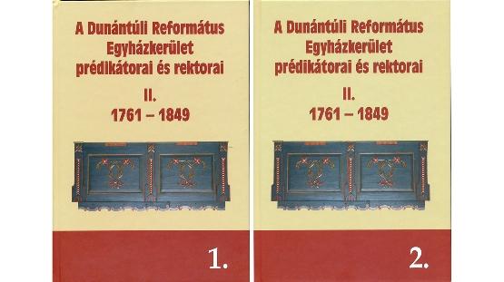 Dunántúli lelkészi - tanítói adattárunk