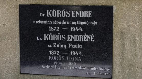 Megemlékezés Kőrös Endre sírjánál